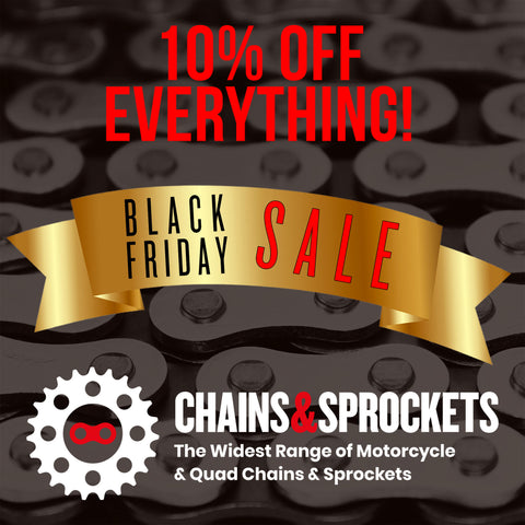 BLACK FRIDAY SALE - 10% off EVERYTHING!