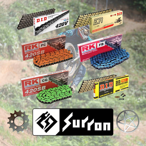 Now Stocking Sur-Ron Chains & Sprockets