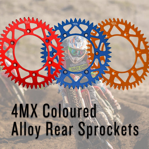 4MX Coloured Off-Road Sprockets - Made By ZF