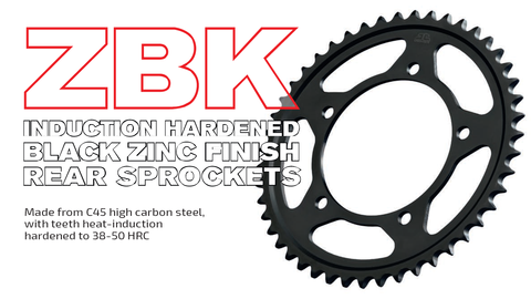 Comming soon new JT ZBK rear drive sprockets - induction hardened