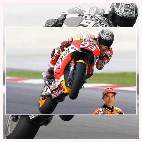 Marc Marquez: Powered by RK Chain