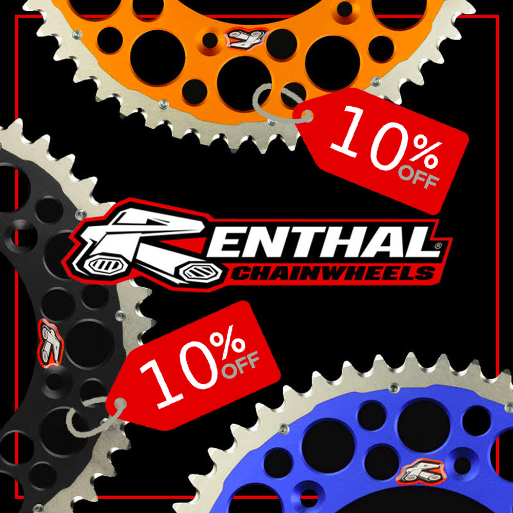 10% Off Renthal Twinring Chainwheels!