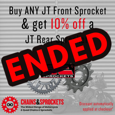 10% Off at Chains & Sprockets!