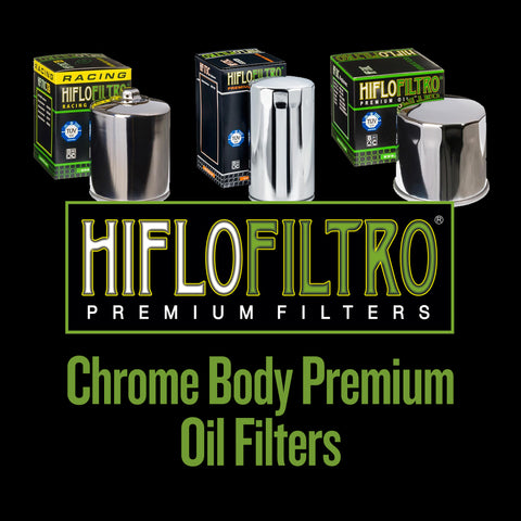 Hiflo Filtro Chrome Body Premium Oil Filters