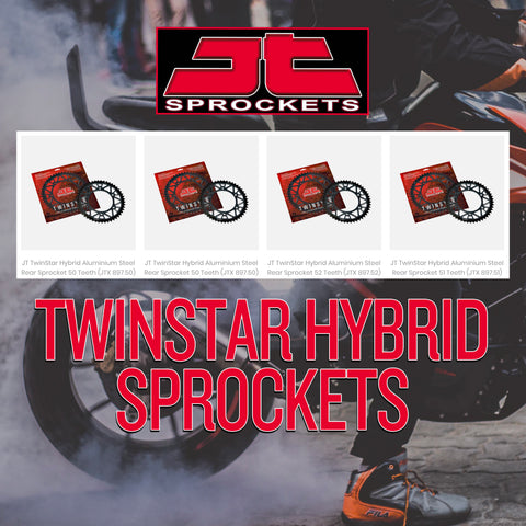 JT TwinStar Hybrid Sprockets are NOW HERE!