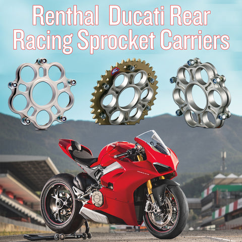 Renthal Ducati Sprocket Carriers - In Store Now!