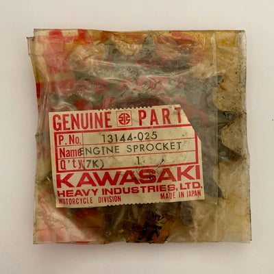Kawasaki Genuine Front Sprocket 13144-025 NOS 15 Teeth