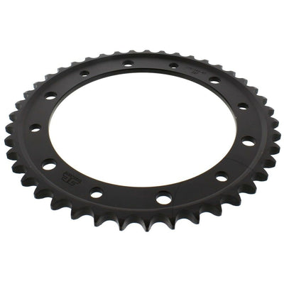 JTR1340 Black Edition Induction Hardened ZBK Motorcycle Sprocket 43 Teeth (JTR 1340.43)