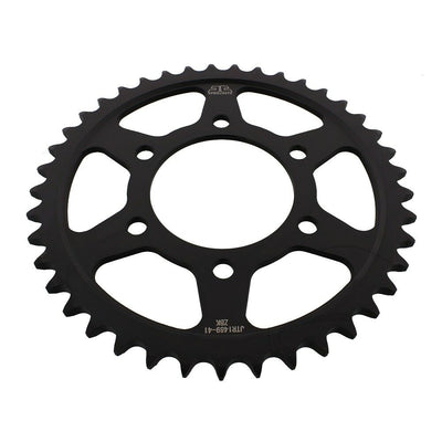 JTR1489 Black Edition Induction Hardened ZBK Motorcycle Sprocket 41 Teeth (JTR 1489.41)