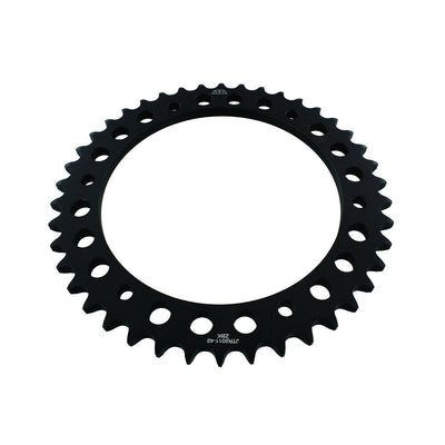JTR2011 Black Edition Induction Hardened ZBK Motorcycle Sprocket 42 Teeth (JTR 2011.42)