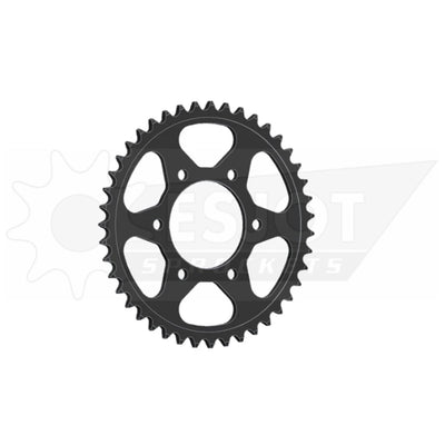 29018-44 Black Steel Esjot Rear Drive Sprocket 44 Teeth (1489.44)