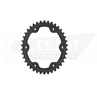 29050-38 Black Steel Esjot Rear Drive Sprocket 38 Teeth (893.38)