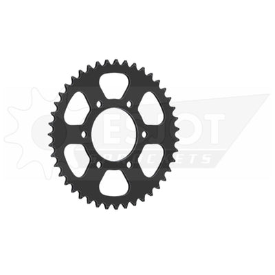 32009-38 Black Steel Esjot Rear Drive Sprocket 38 Teeth (1478.38)