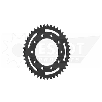 32206-43 Black Steel Esjot Rear Drive Sprocket 43 Teeth (1316.43)