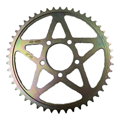 Sur-Ron Sprocket Alloy T60 Silver Anodized 60 Teeth Surron LBX All Models