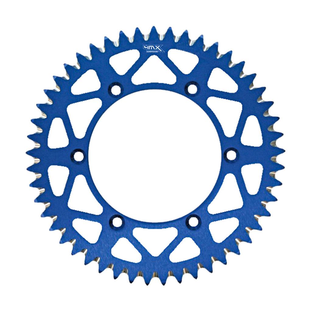 4MX Rear Blue Aluminium Motorcycle Sprocket (808.48)