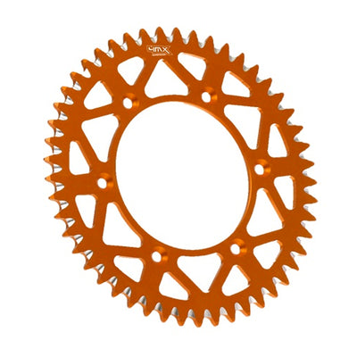 4MX Rear Orange Aluminium Motorcycle Sprocket (897.48)