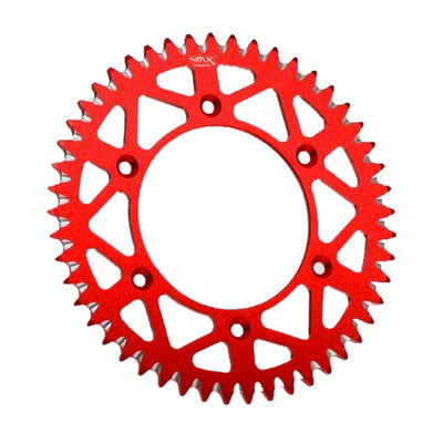 4MX Rear Red Aluminium Motorcycle Sprocket (210.48)
