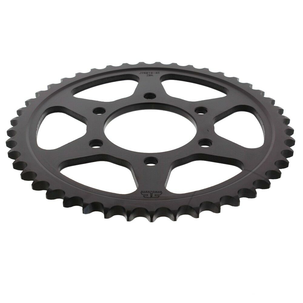 JTR816 Black Edition Induction Hardened ZBK Motorcycle Sprocket 45 Teeth (JTR 816.45)