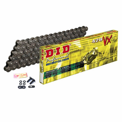 Motorcycle Chain DID X-Ring Steel 428 VX 120 (FB)