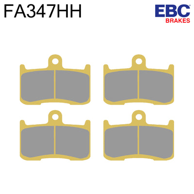 EBC HH Sintered Front Brake Pads FA347HH (Two Calipers)