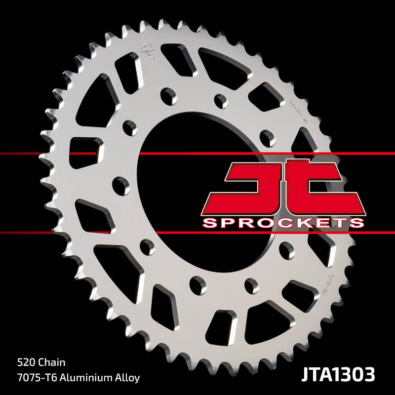 JTA1303 Rear Alloy Drive Motorcycle Sprocket 52 Teeth (JTA 1303.52)