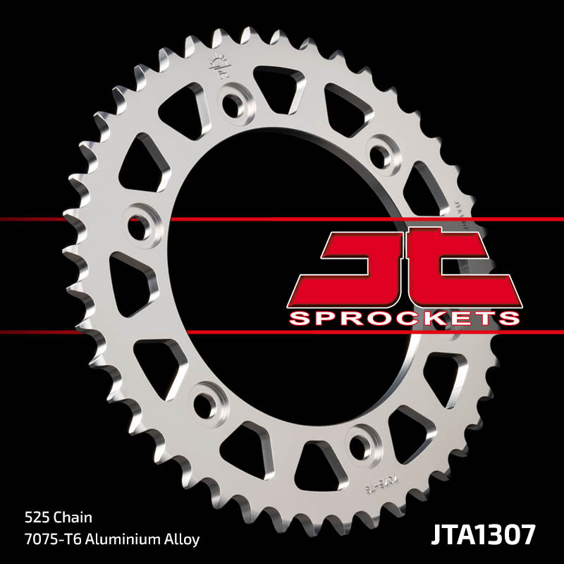 JTA1307 Rear Alloy Drive Motorcycle Sprocket 42 Teeth (JTA 1307.42)
