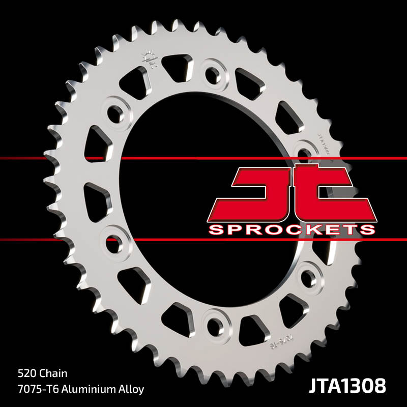 JTA1308 Rear Alloy Drive Motorcycle Sprocket 47 Teeth (JTA 1308.47)