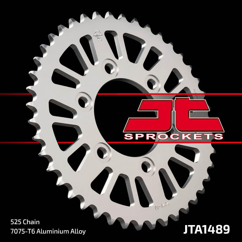 JTA1489 Rear Alloy Drive Motorcycle Sprocket 44 Teeth (JTA 1489.44)
