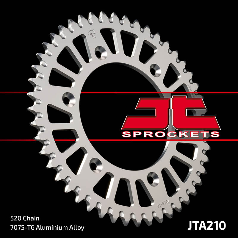JTA210 Rear Alloy Drive Motorcycle Sprocket 47 Teeth (JTA 210.47)