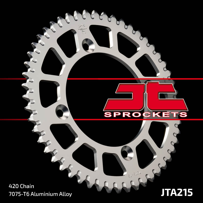 JTA215 Rear Alloy Drive Motorcycle Sprocket 52 Teeth (JTA 215.52)