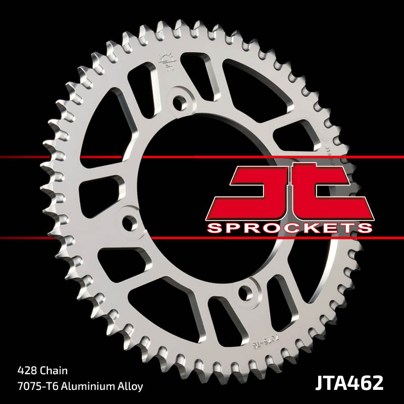 JTA462 Rear Alloy Drive Motorcycle Sprocket 49 Teeth (JTA 462.49)