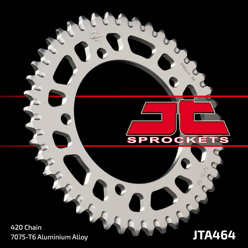 JTA464 Rear Alloy Drive Motorcycle Sprocket 44 Teeth (JTA 464.44)