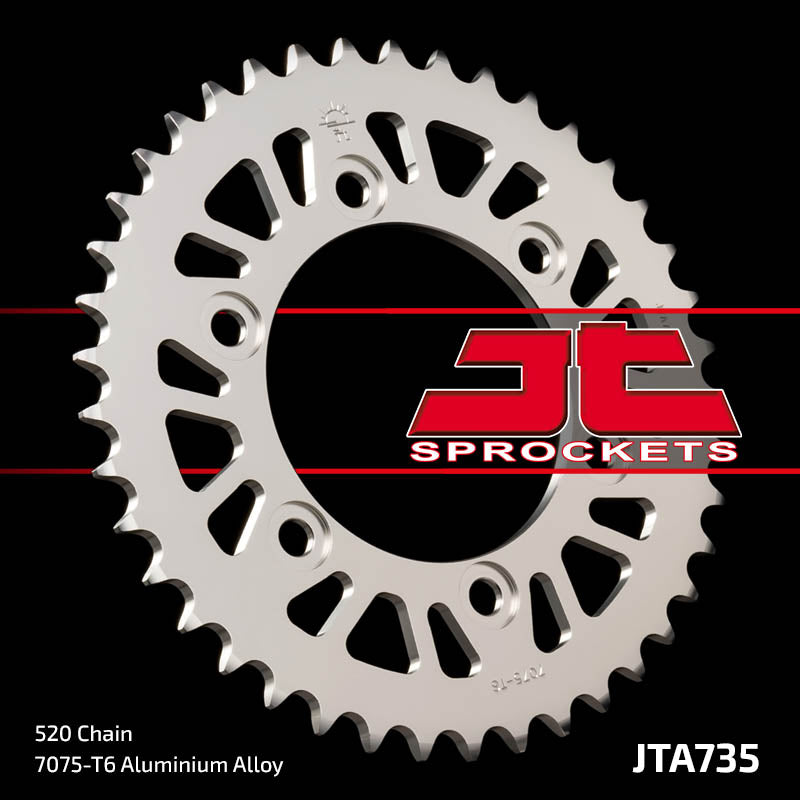 JTA735 Rear Alloy Drive Motorcycle Sprocket 43 Teeth (JTA 735.43)
