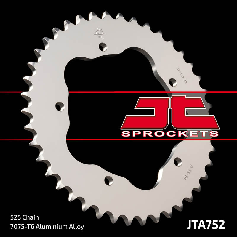 JTA752 Rear Drive Motorcycle Sprocket 42 Teeth