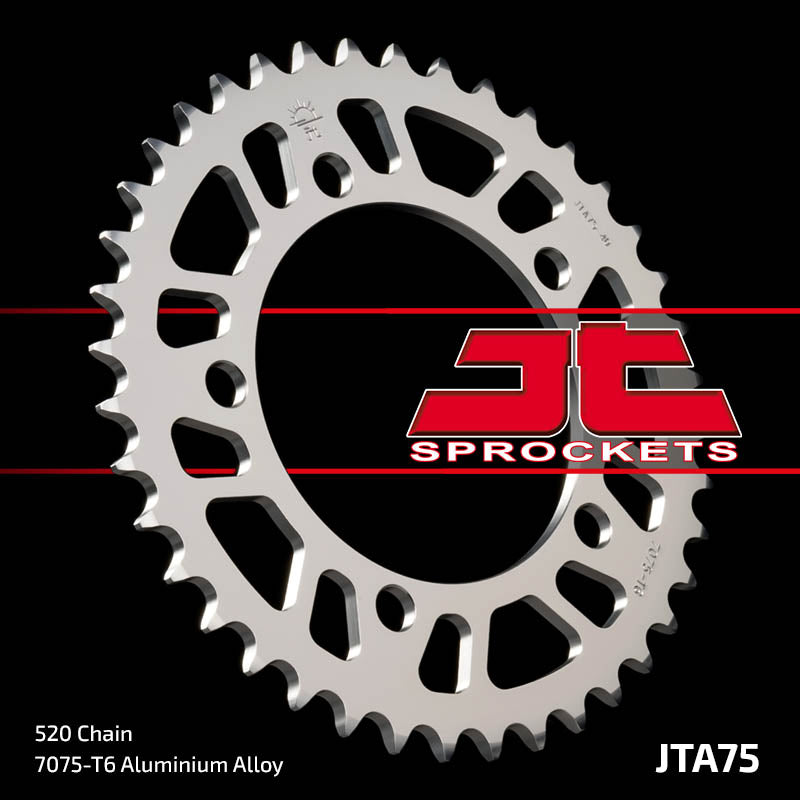 JTA75 Rear Alloy Drive Motorcycle Sprocket 42 Teeth (JTA 75.42)