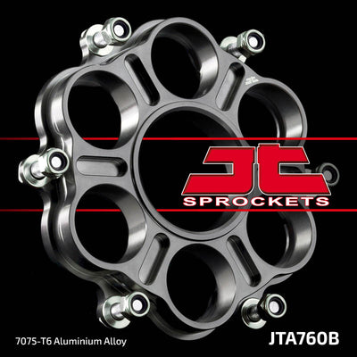 JT760B Aluminium Alloy Ducati Rear Racing Motorcycle Sprocket Carrier (JTA 760B)