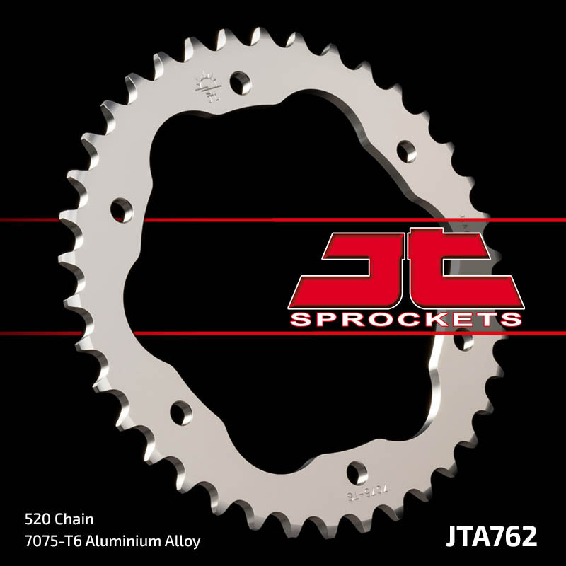 JTA762 Rear Alloy Drive Motorcycle Sprocket 38 Teeth (JTA 762.38)