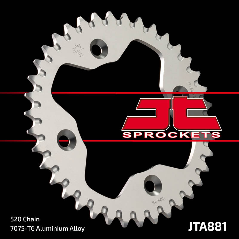 JTA881 Rear Drive Motorcycle Sprocket 38 Teeth