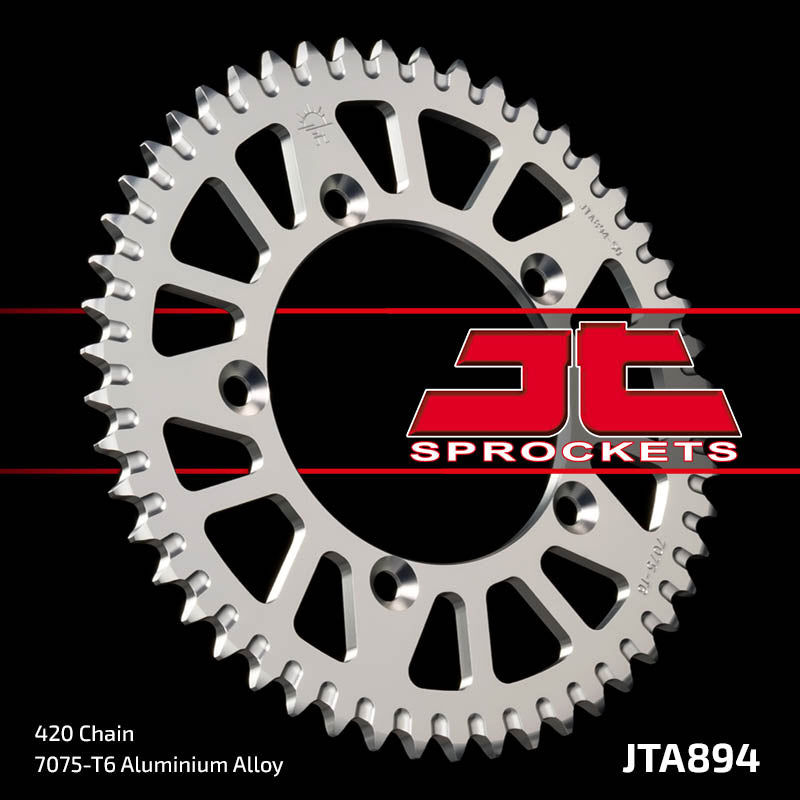 JTA894 Rear Alloy Drive Motorcycle Sprocket 48 Teeth (JTA 894.48)