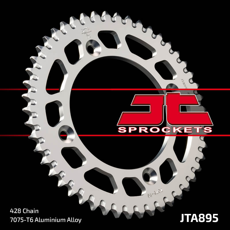 JTA895 Rear Alloy Drive Motorcycle Sprocket 50 Teeth (JTA 895.50)