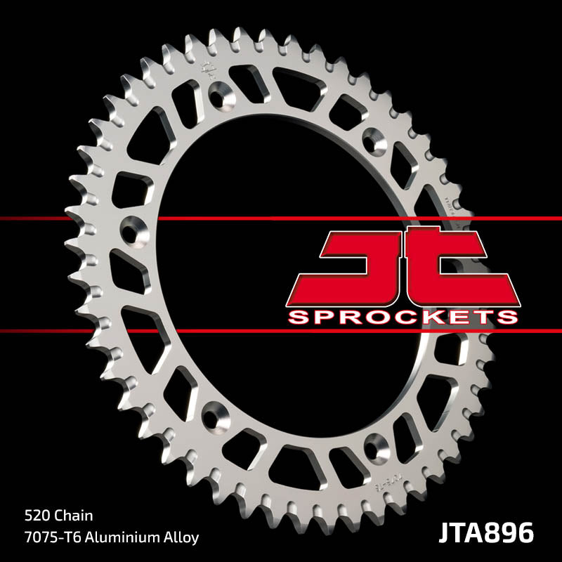 JTA896 Rear Alloy Drive Motorcycle Sprocket 50 Teeth (JTA 896.50)