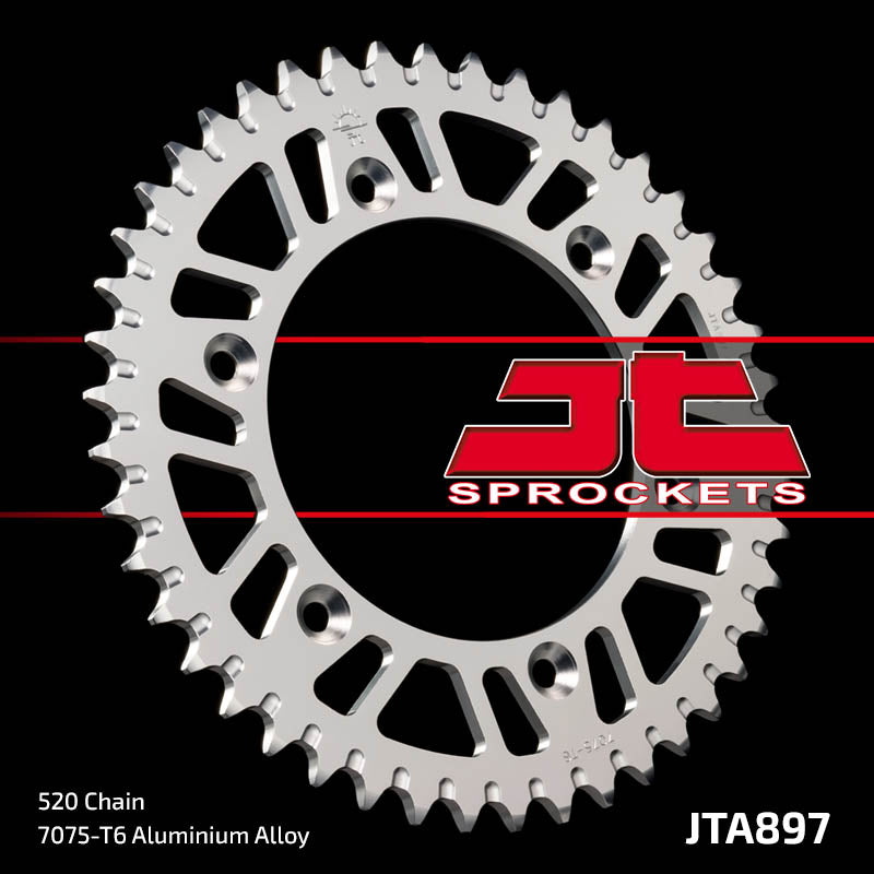JTA897 Rear Alloy Drive Motorcycle Sprocket 42 Teeth (JTA 897.42)