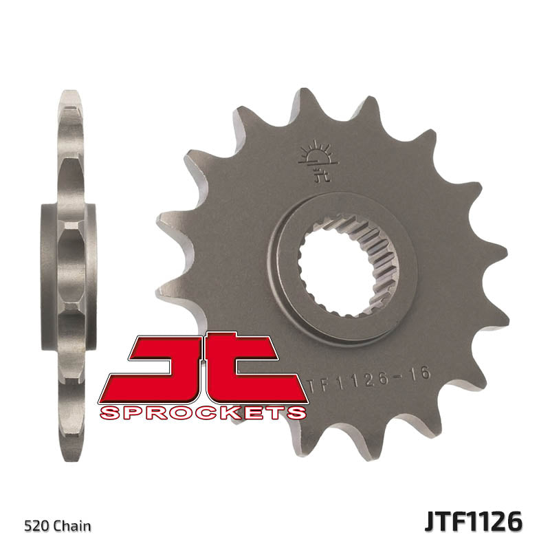 Front Motorcycle Sprocket for Aprilia_650 Pegaso_92-97, Aprilia_Moto 6.5_95-99