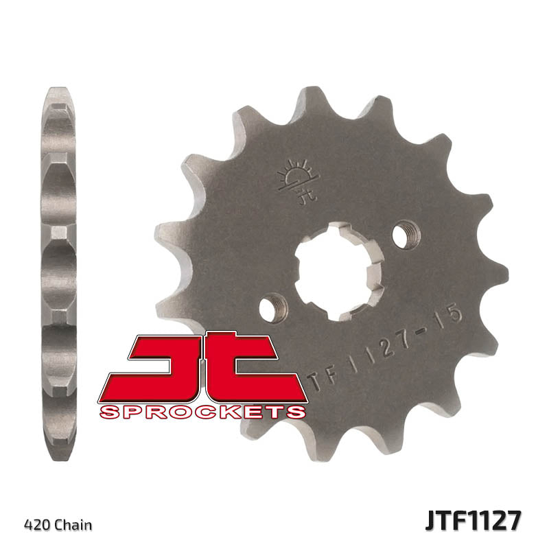 Front Motorcycle Sprocket for Derbi_50 R-DRD Black Devil_04-05, Derbi_50 Senda R DRD_02-05, Derbi_50 Senda R X-Race_04-05, Derbi_50 Senda R X-treme_02-05, Derbi_50 Senda R_00-02, Derbi_50 Senda SM Classic_99-02