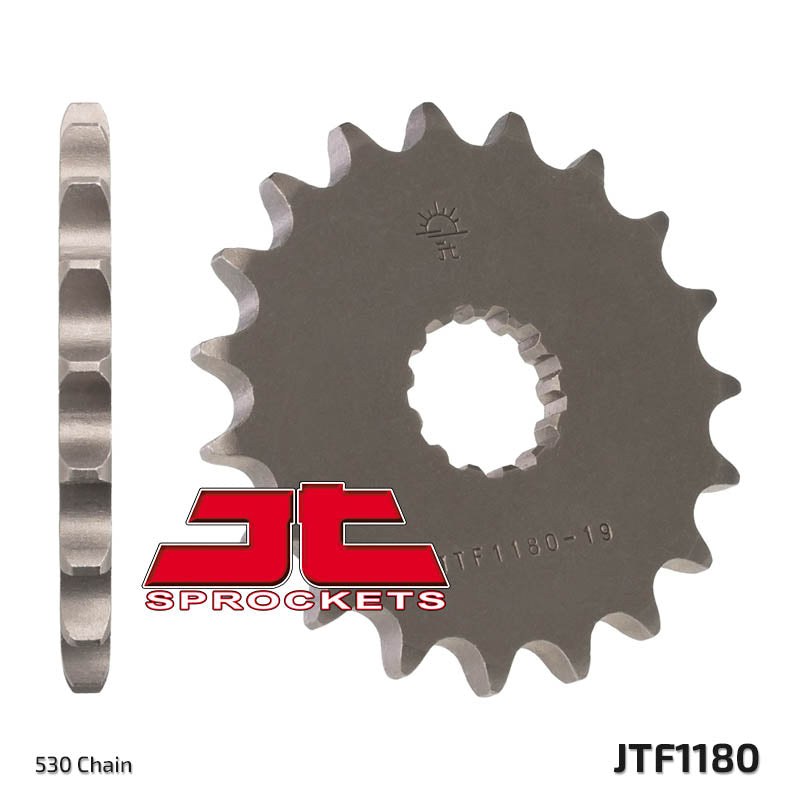 Front Motorcycle Sprocket for Triumph_1050 Speed Triple R_12, Triumph_1050 Speed Triple_05-12, Triumph_1050 Tiger SE_09-12, Triumph_1050 Tiger_07-11, Triumph_1200 Daytona_93-96, Triumph_1200 Daytona_97, Triumph_1200 Trophy_00, Triumph_1200 Trophy_02-03, Triumph_1200 Trophy_91-96, Triumph_1200 Trophy_97-99, Triumph_900 Adventurer_99-01, Triumph_900 Thunderbird Sport_99-00, Triumph_900 Tiger_91-00, Triumph_900 Trophy_00-01, Triumph_955 Speed Triple_02-04, Triumph_955 Speed Triple_99-01, Triumph_955 Sprint ST_