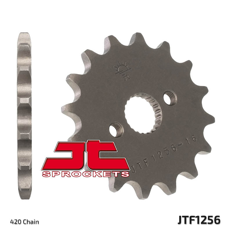 JTF1256 Front Drive Motorcycle Sprocket 15 Teeth (JTF 1256.15)