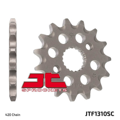Front Motorcycle Sprocket for Honda_CRF150 R-C_12, Honda_CRF150 R_07-11, Honda_CRF150 RB-C_12, Honda_CRF150 RB_07-11