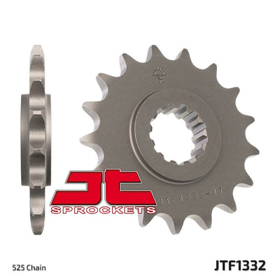 JTF1332 Front Drive Motorcycle Sprocket 16 Teeth (JTF 1332.16)