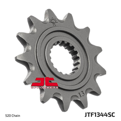 JTF1344 Front Drive Motorcycle Sprocket Self Cleaning 14 Teeth (JTF 1344.14)